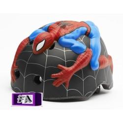 Casque de vélo 3D Spiderman