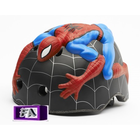 Casque de vélo 3D Spiderman