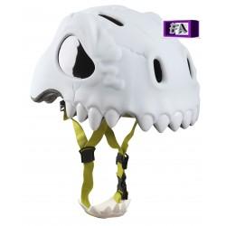 Casque de vélo 3D Crâne Blanc