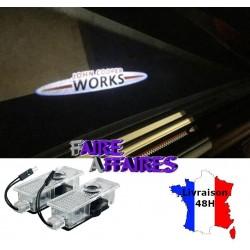 2 Projecteurs seuil de porte MINI John Cooper Works