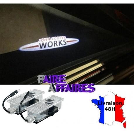 2 Projecteurs seuil de porte MINI
